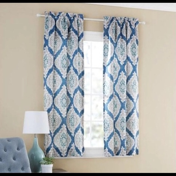 Better Homes And Gardens Other - Two sets of blue curtains